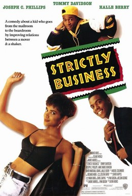 Постер фильма Только бизнес (1991)