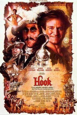 Постер фильма Капитан Крюк (1991)
