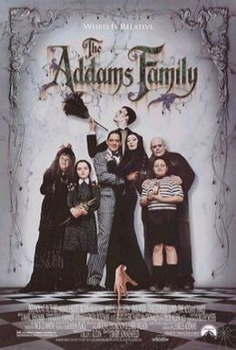 Постер фильма Семейка Аддамс (1991)