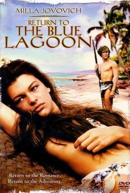 Постер фильма Возвращение в Голубую лагуну (1991)