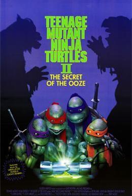 Постер фильма Черепашки-ниндзя 2: Тайна изумрудного зелья (1991)