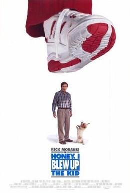 Постер фильма Дорогая, я увеличил ребенка (1992)