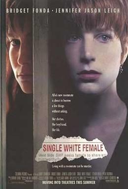 Постер фильма Одинокая белая женщина (1992)