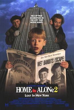 Постер фильма Один дома 2: Затерянный в Нью-Йорке (1992)