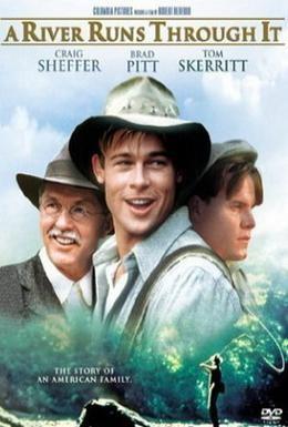 Постер фильма Там, где течет река (1992)