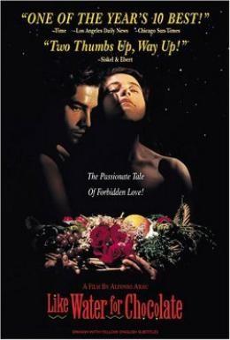 Постер фильма Как вода для шоколада (1992)