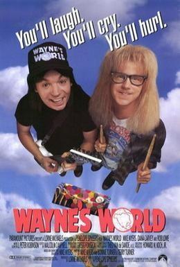 Постер фильма Мир Уэйна (1992)