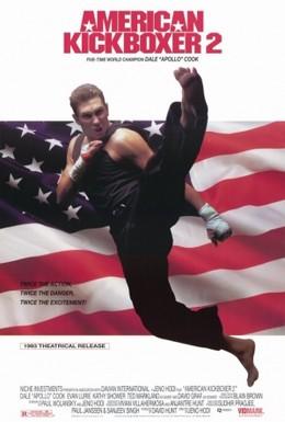 Постер фильма Американский кикбоксер 2 (1993)