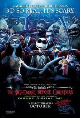 Постер фильма Кошмар перед Рождеством (1993)