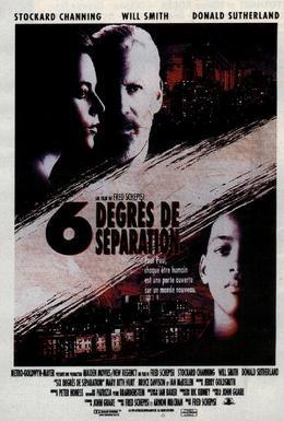 Постер фильма Шесть степеней отчуждения (1993)