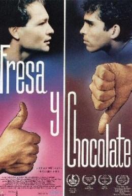 Постер фильма Клубничное и шоколадное (1993)