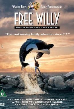 Постер фильма Освободите Вилли (1993)