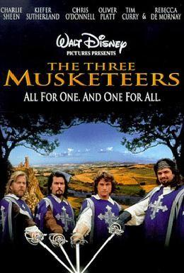 Постер фильма Три мушкетера (1993)