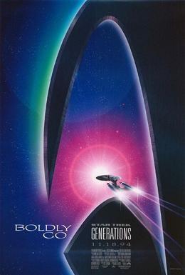 Постер фильма Звездный путь 7: Поколения (1994)