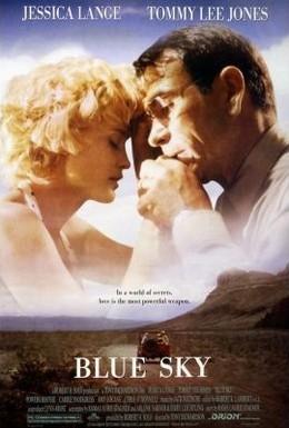 Постер фильма Голубое небо (1994)