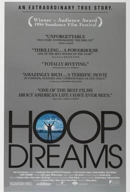 Постер фильма Баскетбольные мечты (1994)