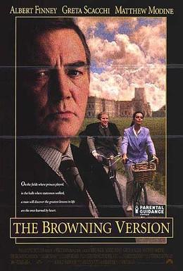 Постер фильма Версия Браунинга (1994)