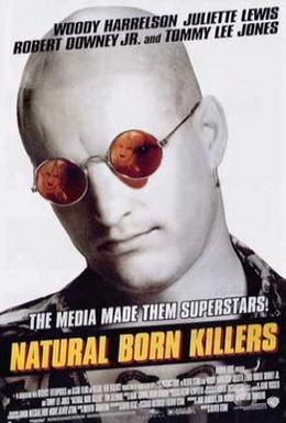 Постер фильма Прирожденные убийцы (1994)