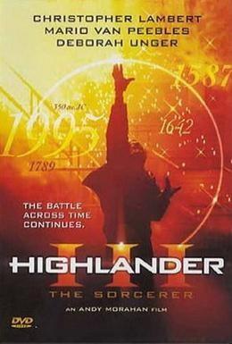 Постер фильма Горец 3: Последнее измерение (1994)