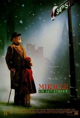 Постер фильма Чудо на 34-й улице (1994)