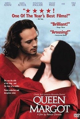 Постер фильма Королева Марго (1994)