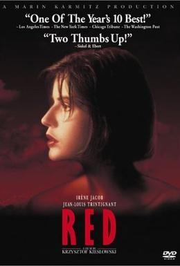 Постер фильма Три цвета: Красный (1994)