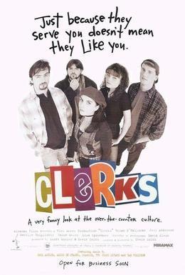 Постер фильма Клерки (1994)