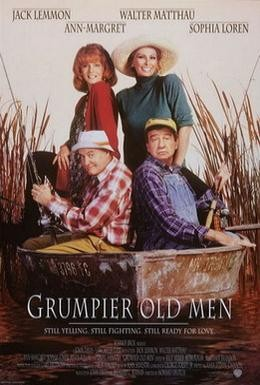 Постер фильма Старые ворчуны разбушевались (1995)