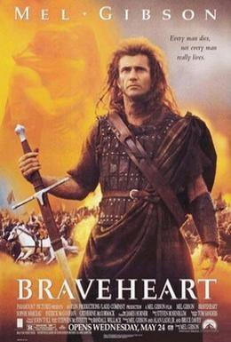 Постер фильма Храброе сердце (1995)