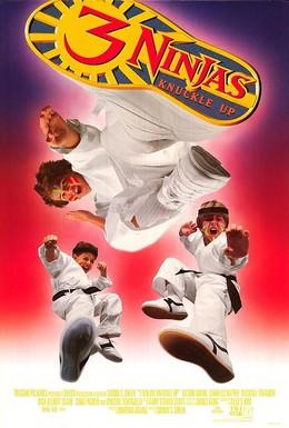 Постер фильма Три ниндзя: Костяшки вверх (1995)