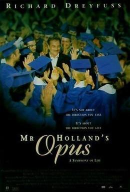 Постер фильма Опус мистера Холланда (1995)