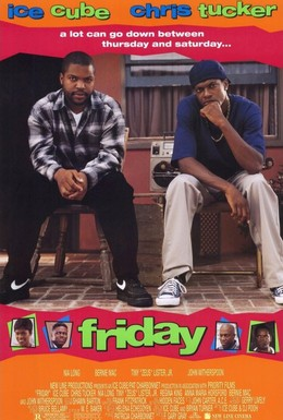 Постер фильма Пятница (1995)