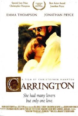 Постер фильма Кэррингтон (1995)