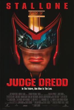 Постер фильма Судья Дредд (1995)