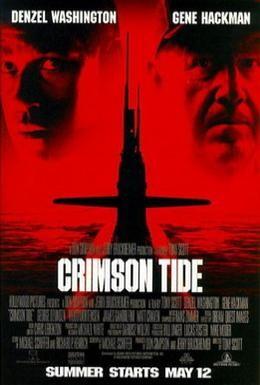 Постер фильма Багровый прилив (1995)