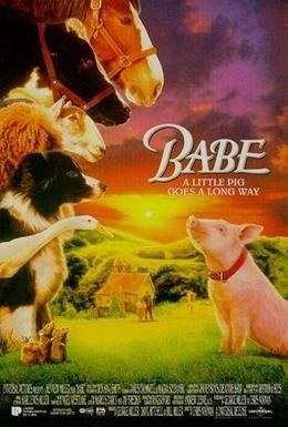 Постер фильма Бэйб: Четвероногий малыш (1995)