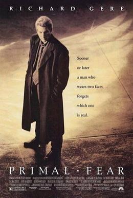 Постер фильма Первобытный страх (1996)