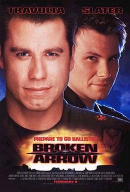 Постер фильма Сломанная стрела (1996)