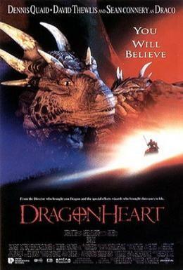 Постер фильма Сердце дракона (1996)