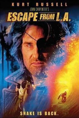 Постер фильма Побег из Лос-Анджелеса (1996)