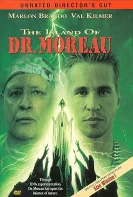 Постер фильма Остров доктора Моро (1996)