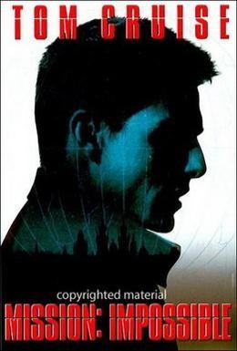 Постер фильма Миссия: невыполнима (1996)