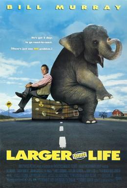 Постер фильма Больше, чем жизнь (1996)
