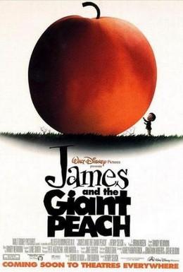 Постер фильма Джеймс и гигантский персик (1996)