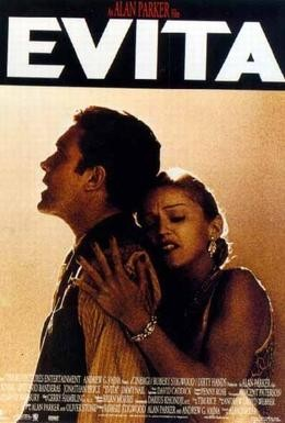Постер фильма Эвита (1996)