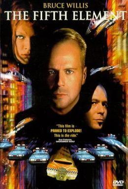 Постер фильма Пятый элемент (1997)
