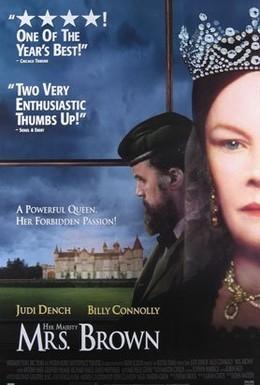 Постер фильма Ее величество Миссис Браун (1997)