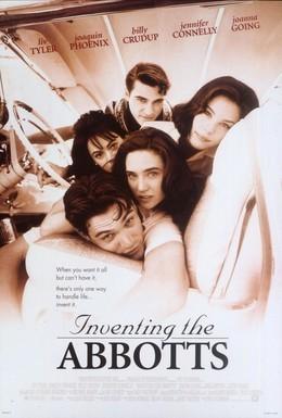 Постер фильма Выдуманная жизнь Эбботов (1997)