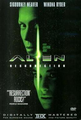 Постер фильма Чужoй 4: Воскрешение (1997)