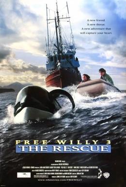 Постер фильма Освободите Вилли 3: Спасение (1997)